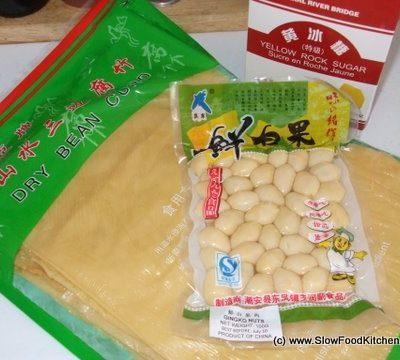 Gingko, Barley, Bean Curd – Chinese Dessert