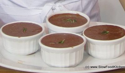 Mat Follas Chocolate & rosemary mousse