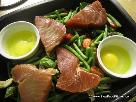Gwyneth Paltrow's Hot Nicoise Salad