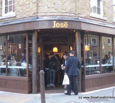 Jose Pizarro's new Tapas and Sherry Bar, Bermondsey