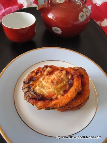 Spicy Nduja Palmier Bites Canapes