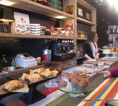 Great Cakes at Outsider Tart Chiswick