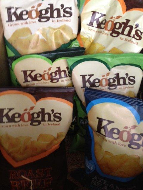 keoghs shamrock crisps