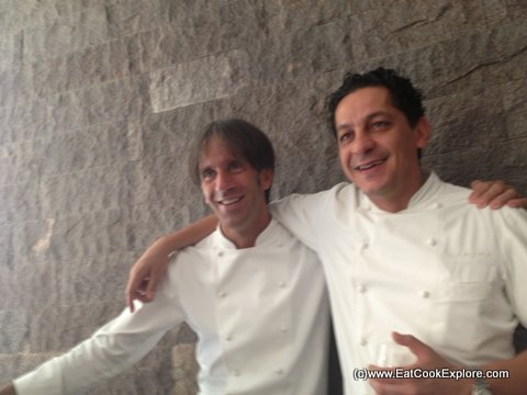 Francesco Mazzei and Davide Oldani