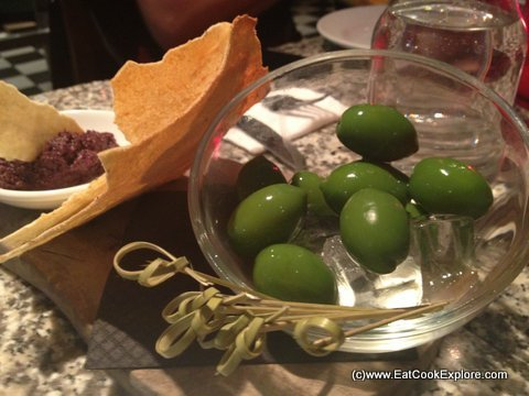Pontis Italian Oxford Circus fresh olives from Emilia Romagna