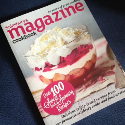 Win a copy of the Sainsbury Magazine Cookbook