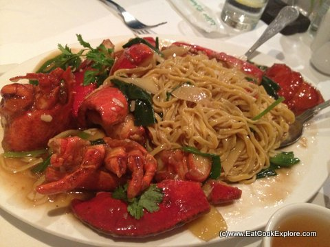 Mandarin Kitchen For Lobster Noodles In London