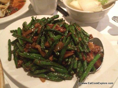 Mandarin Kitchen Queensway. Stir Fried Green Beans