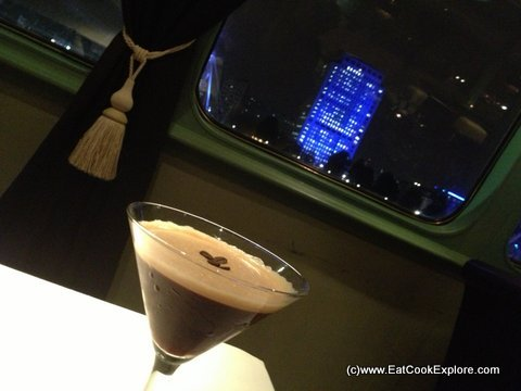 A Cocktail with a view - HIspaniola Upper Deck