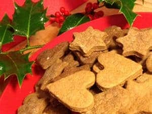 Norwegian Pepperkaker Gingerbread Biscuits