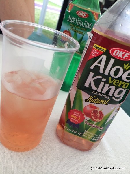 Korean Aloe Vera drinks