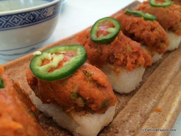 La Style Korea Town Crispy Tuna Rice