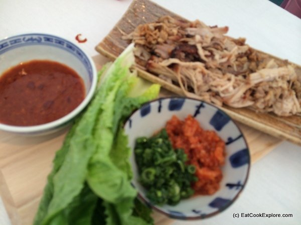 Bossam (Korean Pork Wraps)