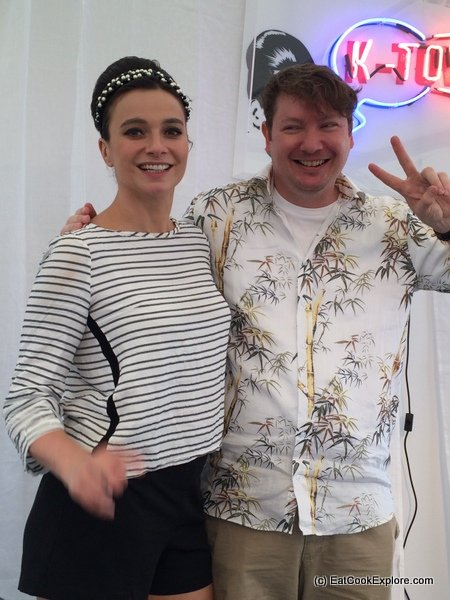 Gizzi Erskine and Joe McPherson