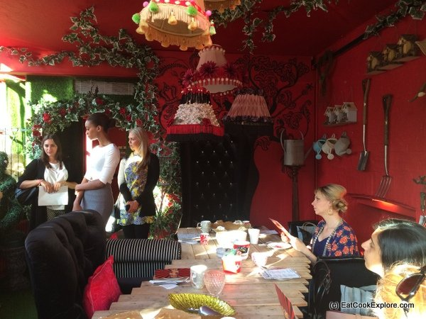 Carnaby Street Eat Choccywoccydoodah's secret room