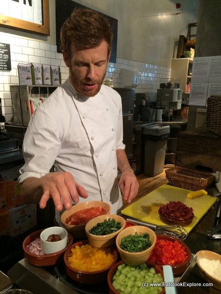 Tom Aikens helps launch Market Deli by Walkers