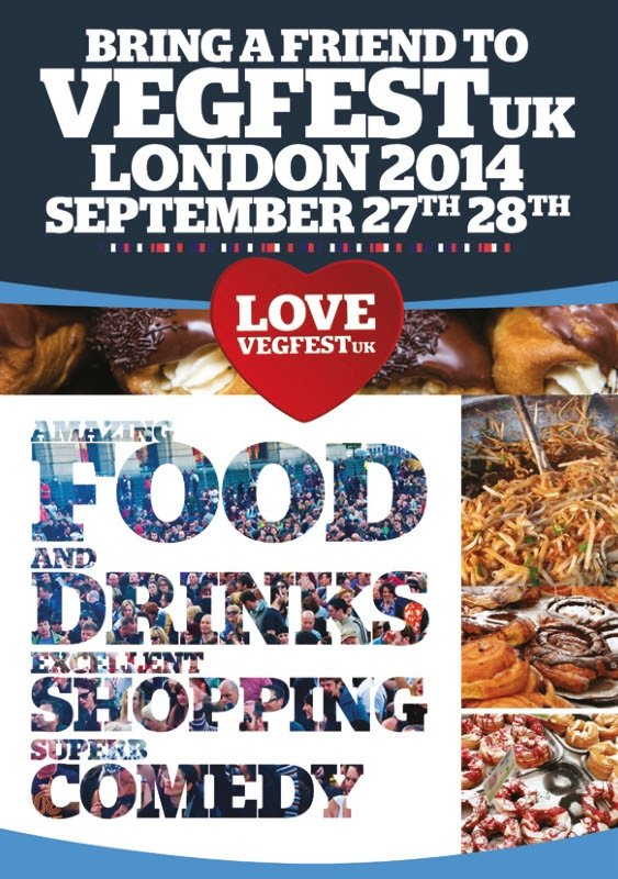 Win tickets to VegFest London