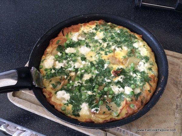 Feta cheese Tortilla