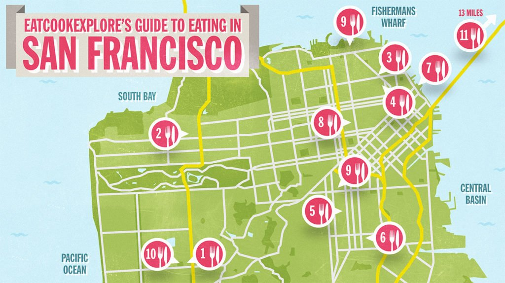 San-Francisco-Foodie-Map-Eat Cook Explore-Virgin Atlantic