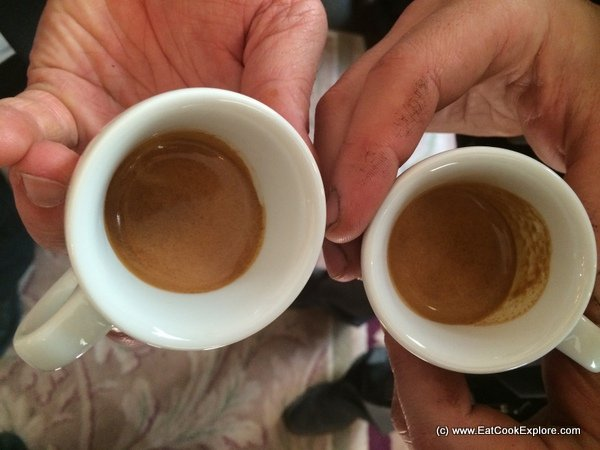 The perfect crema on top of a perfect Espresso