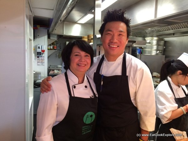 Florita Alves and Andrew Wong at A Wong