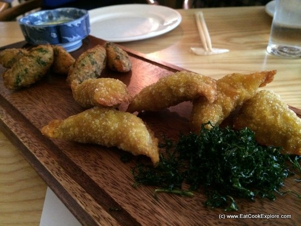 Blinhos des bacalhau and Chillicote