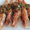 Gambas a Macau, Macau prawns at A Wong
