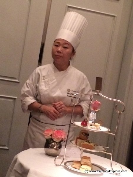 Cherish Finden at the Langham
