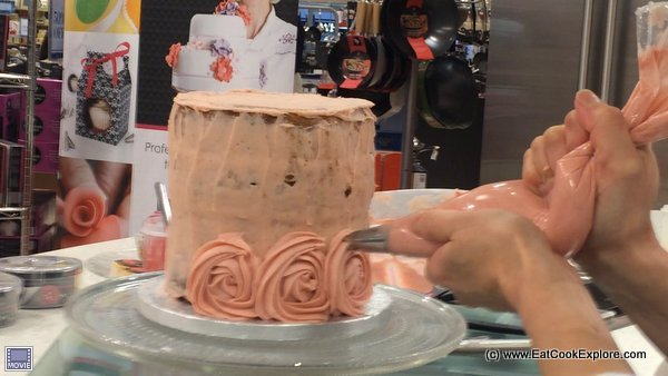 Mich Turner Rose Ombre Cake