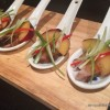 Tea Smoked Duck with Spiced Plum Sauce Canapes
