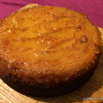Gluten Free Spiced Orange and Almond cake
