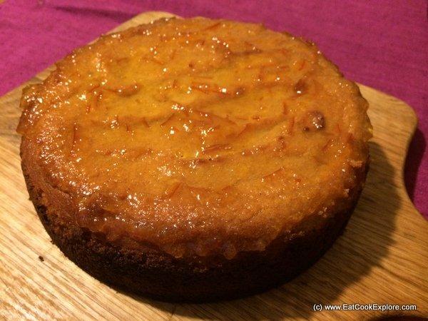 Gluten Free Spiced Orange and Almond cake