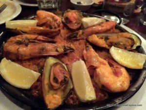 Seafood Paella at Bar Gansa