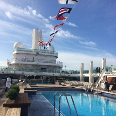 The Queen names Britannia Cruise Ship and a first look inside