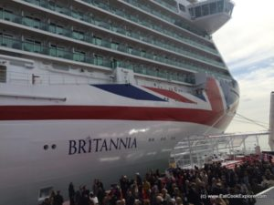 Exploring P&Os new ship Britannia in pictures