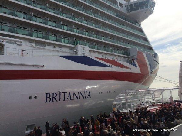 Exploring P&Os new ship Britannia in pictures