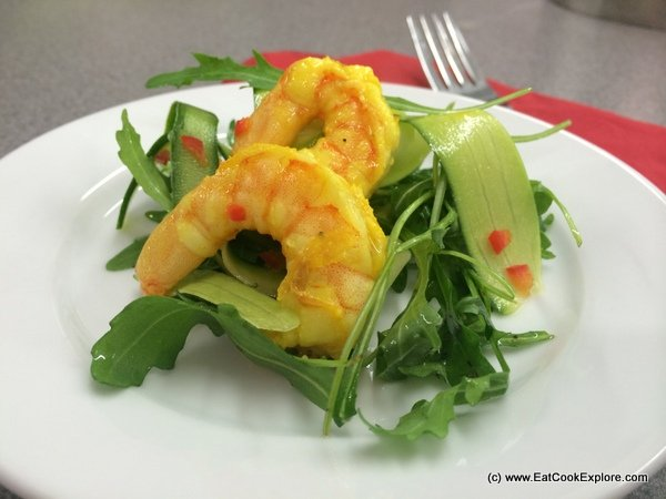 Asian Prawn Salad