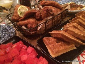 Joes Southern Kitchen Fried Chicken and Waffles