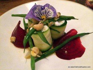 Tapas revolution courgette salad