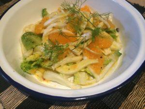Fennel and Orange Salad with Manuka Honey Mustard Vinaigrette