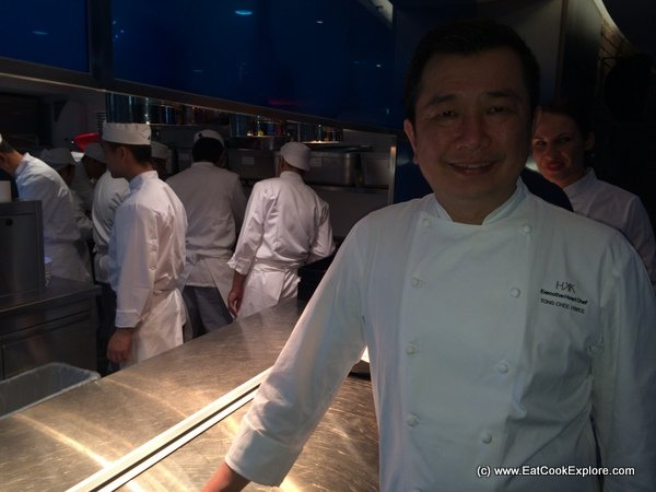 Yauatcha Executive Chef Tong