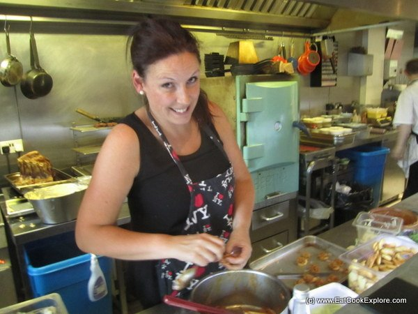 Nicola, one of the contestants on BBQ Champ