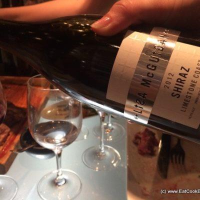 Tasting Lisa McGuigan Wines at Gaucho club