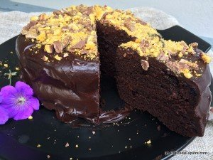 Bruce Bogtrotter's Rich Chocolate Cake #MatildaBakeOff