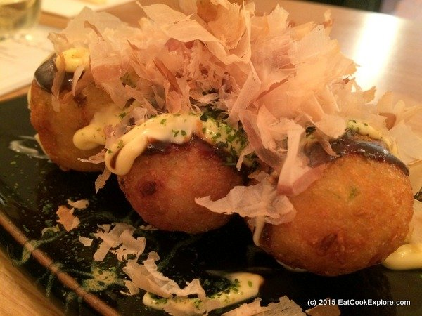 Muga takoyaki octopus balls