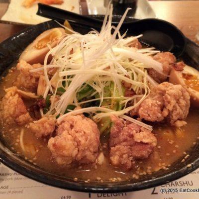 Muga's delicious Miso Ramen