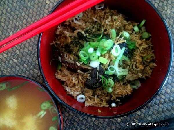 Taste Japan – Chicken and Shitake Mushroom Rice