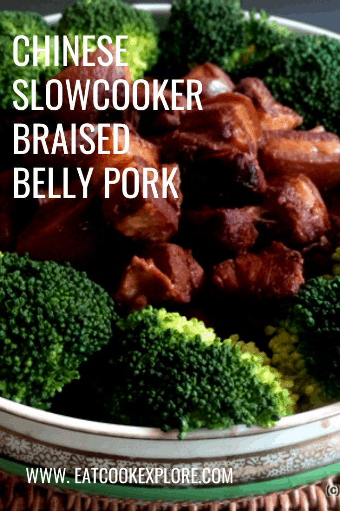 chinese slow cooker braised belly pork