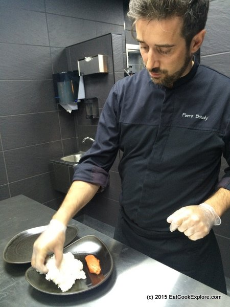 sushi shop Exec Chef Pierre