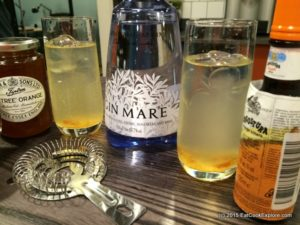 Triple Orange Gin Mare Cocktail #ATasteofTravel